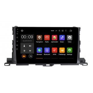Штатная магнитола Roximo 4G RX-1112 для Toyota Highlander 3 (Android 6.0)