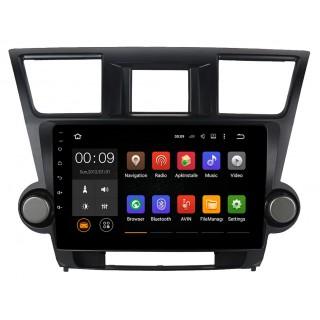 Штатная магнитола Roximo 4G RX-1122 для Toyota Highlander 2 2007-2013 (Android 6.0)
