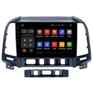 Штатная магнитола Roximo 4G RX-2008 для Hyundai SantaFe 2 (Android 6.0)