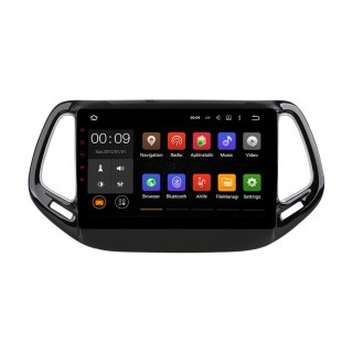 Штатная магнитола Roximo 4G RX-2204 для Jeep Compas 2017 (Android 6.0)