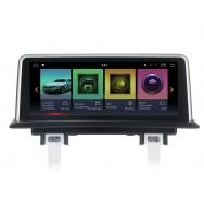 Штатная магнитола Roximo RW-2708 для BMW 1 (2006-2012) E81/E82/E87/E88 для комплектации без штатного дисплея, iDrive