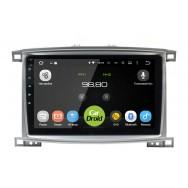 Штатная магнитола CarDroid RD-1123F для Toyota Land Cruiser 100 (Android 9.0) DSP