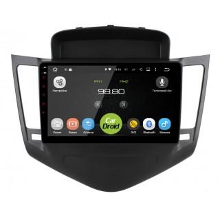Штатная магнитола CarDroid RD-1308F для Chevrolet Cruze 2009-2013 (Android 9.0) DSP