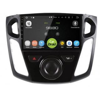 Штатная магнитола CarDroid RD-1701F для Ford Focus 3 2011-2017 (Android 9.0) DSP