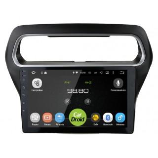 Штатная магнитола CarDroid RD-1714F для Ford Escort (Android 9.0) DSP