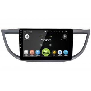 Штатная магнитола CarDroid RD-1904F для Honda CR-V 4 (Android 9.0) DSP