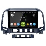 Штатная магнитола CarDroid RD-2008F для Hyundai SantaFe 2  (Android 8.0)