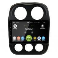 Штатная магнитола CarDroid RD-2203F для Jeep Compas (Android 8.0)