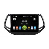 Штатная магнитола CarDroid RD-2204F для Jeep Compas 2017 (Android 9.0) DSP