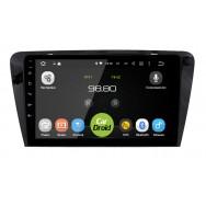 Штатная магнитола CarDroid RD-3201F для Skoda Octavia A7 (Android 9.0) DSP