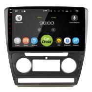 Штатная магнитола CarDroid RD-3202F для Skoda Octavia A5 (Android 9.0) DSP