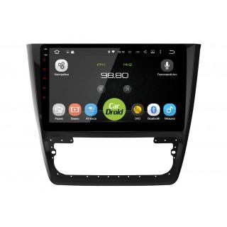 Штатная магнитола CarDroid RD-3204F для Skoda Yeti (Android 8.0)