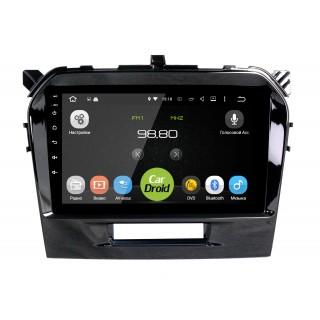Штатная магнитола CarDroid RD-3504F для Suzuki Vitara 2 (Android 9.0) DSP