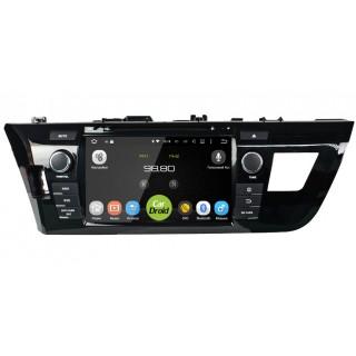 Штатная магнитола CarDroid RD-1103 для Toyota Corolla E160 (Android 8.0)