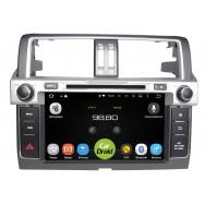 Штатная магнитола CarDroid RD-1106 для Toyota Land Cruiser Prado 150, 2013 (Android 8.0)