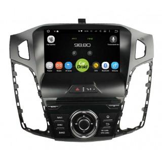 Штатная магнитола CarDroid RD-1701D для Ford Focus 3 (Android 8.0) DSP