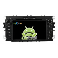 Штатная магнитола CarDroid RD-1702DB для Ford Focus 2, Mondeo (Android 9.0)