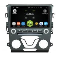 Штатная магнитола CarDroid RD-1703D для Ford Mondeo 5 2015 (Android 8.0) DSP