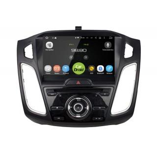 Штатная магнитола CarDroid RD-1705D для Ford Focus 3, 2015 (Android 8.0) DSP