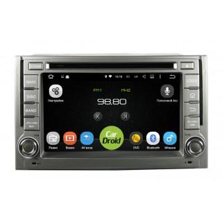 Штатная магнитола CarDroid RD-2007 для Hyundai Starex, H1 (Android 8.0)
