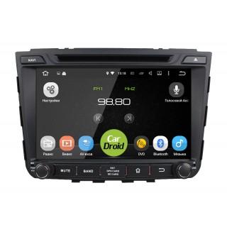 Штатная магнитола CarDroid RD-2010D для Hyundai Creta / ix25 (Android 9.0) DSP