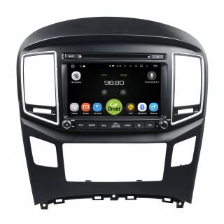 Штатная магнитола CarDroid RD-2017D для Hyundai Starex, H1 2016 (Android 9.0) DSP