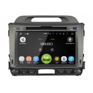 "Штатная магнитола CarDroid RD-2311D для KIA Sportage 3 8"" (Android 9.0) DSP"