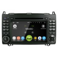 Штатная магнитола CarDroid RD-2503D для Mercedes Benz W169 W245 Vito Viano (Android 9.0) DSP