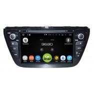 Штатная магнитола CarDroid RD-3501D для Suzuki SX4 2, 2013 (Android 8.0)