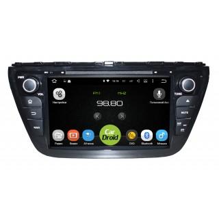 Штатная магнитола CarDroid RD-3501D для Suzuki SX4 2, 2013 (Android 9.0) DSP