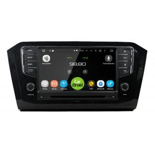 Штатная магнитола CarDroid RD-3713-2gb для Volkswagen Passat 8 (Android 8.0)