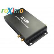 Цифровой 4-х чиповый автомобильный ТВ-тюнер DVB-t2 roXimo RTV-002