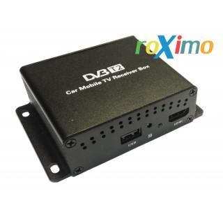 Цифровой автомобильный ТВ-тюнер DVB-t2 roXimo RTV-001