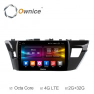 Штатная магнитола Ownice C500+ S1603P для Toyota Corolla E160 (Android 6.0)