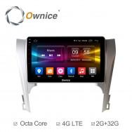Штатная магнитола Ownice C500+ S1607P для Toyota Camry v50 (Android 6.0)