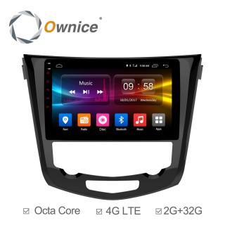 Штатная магнитола Ownice C500+ S1668P для Nissan Qashiqai 2, X-trail 3 auto AC (Android 6.0)
