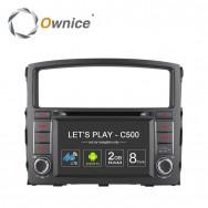 Штатная магнитола Ownice C500 S7631G для Mitsubishi Pajero 4 (Android 6.0)