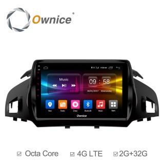 Штатная магнитола Ownice C500+ S9203P для Ford Kuga (Android 6.0)