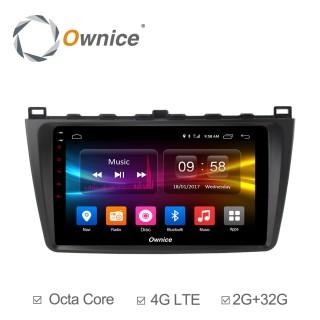 Штатная магнитола Ownice C500+ S9506P для Mazda 6, 2009 (Android 6.0)