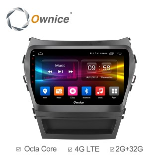 Штатная магнитола Ownice C500+ S9703P для Hyundai SantaFe 3 (Android 6.0)