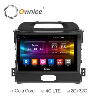 Штатная магнитола Ownice C500+ S9735P для KIA Sportage 3 (Android 6.0)