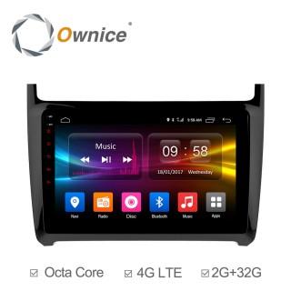Штатная магнитола Ownice C500+ S9903P для Volkswagen Polo (Android 6.0)
