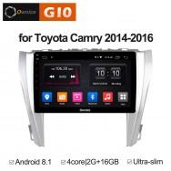 Штатная магнитола Ownice G10 S1608E для Toyota Camry v55 (Android 8.1)
