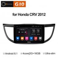 Штатная магнитола Ownice G10 S1641E для Honda CR-V 4 (Android 8.1)