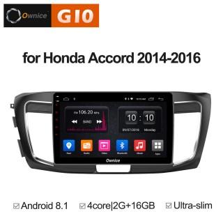 Штатная магнитола Ownice G10 S1642E для Honda Accord 9 (Android 8.1)