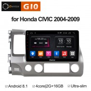 Штатная магнитола Ownice G10 S1647E для Honda Civic 8 (Android 8.1)