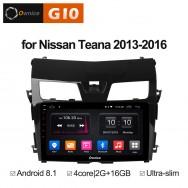 Штатная магнитола Ownice G10 S1665E для Nissan Teana 3 (Android 8.1)