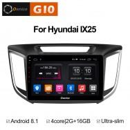 Штатная магнитола Ownice G10 S1701E для Hyundai Creta (Android 8.1)