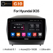 Штатная магнитола Ownice G10 S1702E для Hyundai ix35 (Android 8.1)