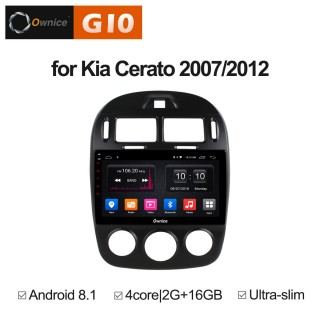 Штатная магнитола Ownice G10 S1741E для KIA Cerato 1 (Android 8.1)